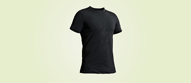 Condition Black Ceramic Impregnated T Shirt