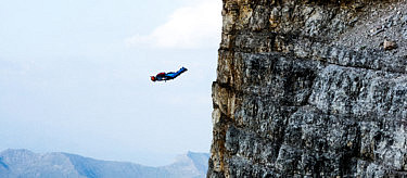 Tim Howell wingsuit flight