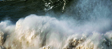 Andrew Cotton during the Big Sunday at Nazare, photo by Pedro Miranda