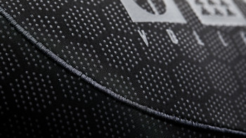 Elasticated active stitching on the Condition Black Ceramic Baselayer. See more at vollebak.com