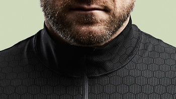 The Condition Black Ceramic Baselayer is soft, lightweight, stretchy - and highly abrasion resistant. See more at vollebak.com